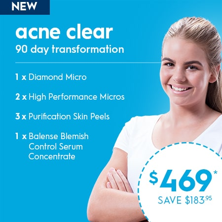 ACNE Clear - 90 day transformation packages