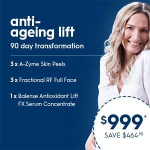 Anti-ageing Lift - 90 day transformation packages
