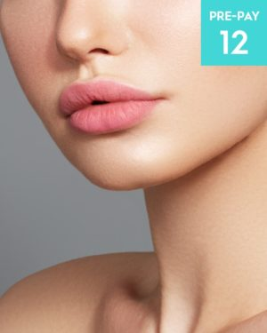 Laser hair removal chin 12 pack