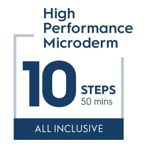 10 step High performance microdermabrasion